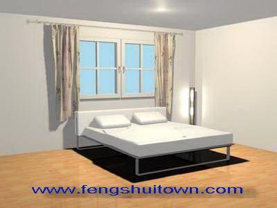 ฮวงจุ้ยห้องนอน Fengshui Bedroom 4. หัวเตียงนอน หน้าต่าง