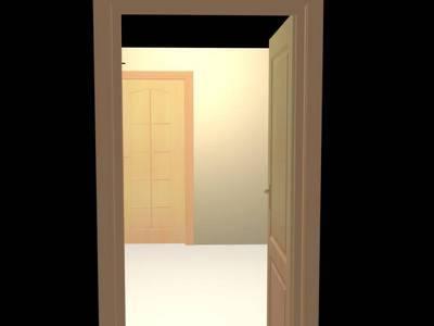 ฮวงจุ้ย ประตูเหลื่อม